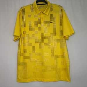 Nike Golf Tour Performance Yellow Polo shirt M